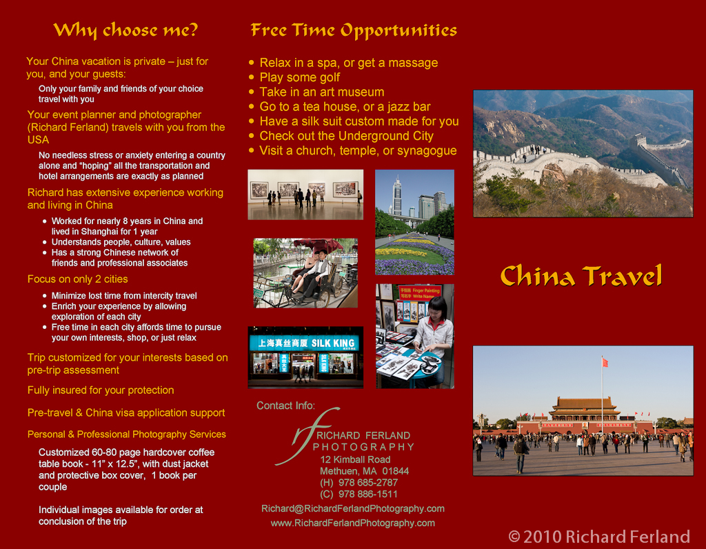 Brochure Samples Pics Brochure Of China