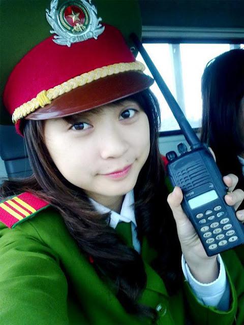 326 - Tổng Hợp các HOT Girl Nữ Cảnh Sát đốn tim FAN nhất Việt Nam