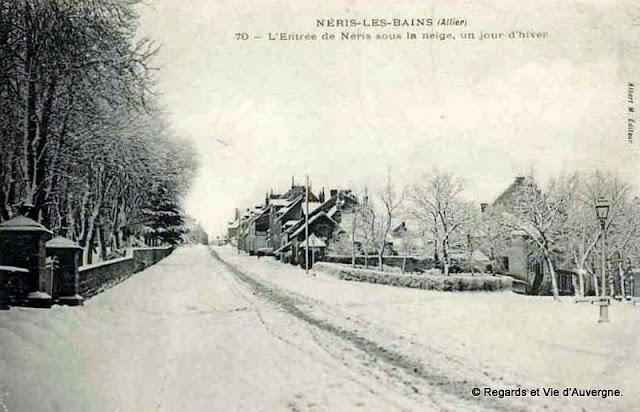CPA Allier, Néris-les-Bains.