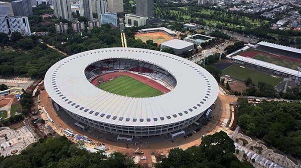 [FOTO] Inilah Kemegahan Stadion GBK dan Sederet Fasilitas Canggih