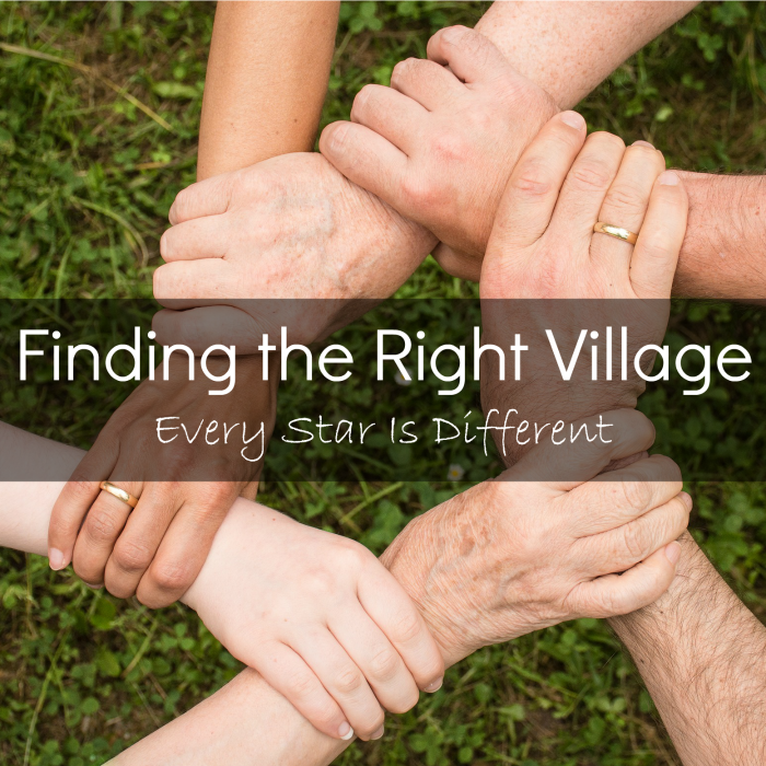 Finding the Right Village