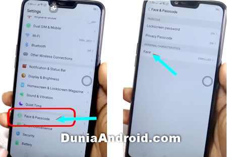 Tips Mengunci Aplikasi Di Oppo A3s Dengan Sensor Wajah Dunia Android