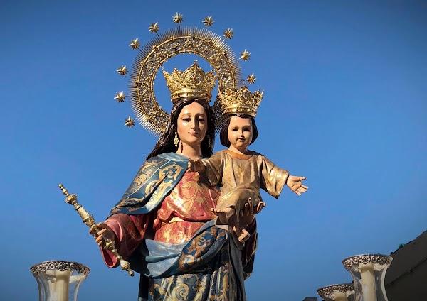 Horario e itinerario de la Procesión de María Auxiliadora. Rota 24 de Mayo del 2019