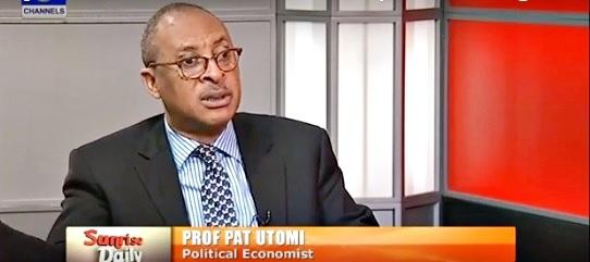 Nigerians May Soon Queue to Buy Salt - Prof. Pat Utomi Talks Tough on Dwindling Economy