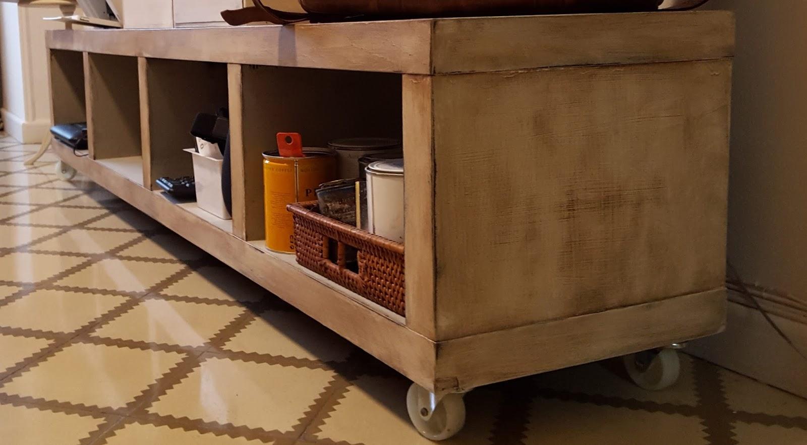 Ikea Muebles De Salon En Blanco Amazing Excellent Mueble Muebles  # Muebles Tuneados