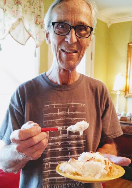 Favorite Coconut Cream Pie at Miz Helen's Country Cottage