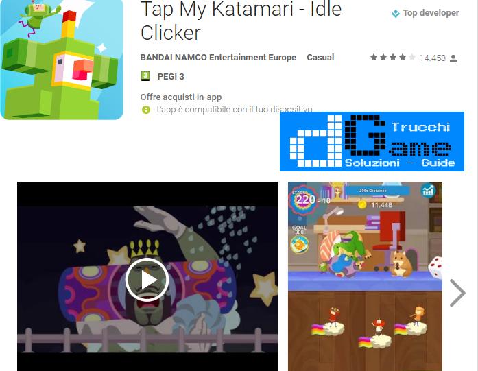 Trucchi  Tap My Katamari - Idle Clicker Mod Apk Android v1.7.0