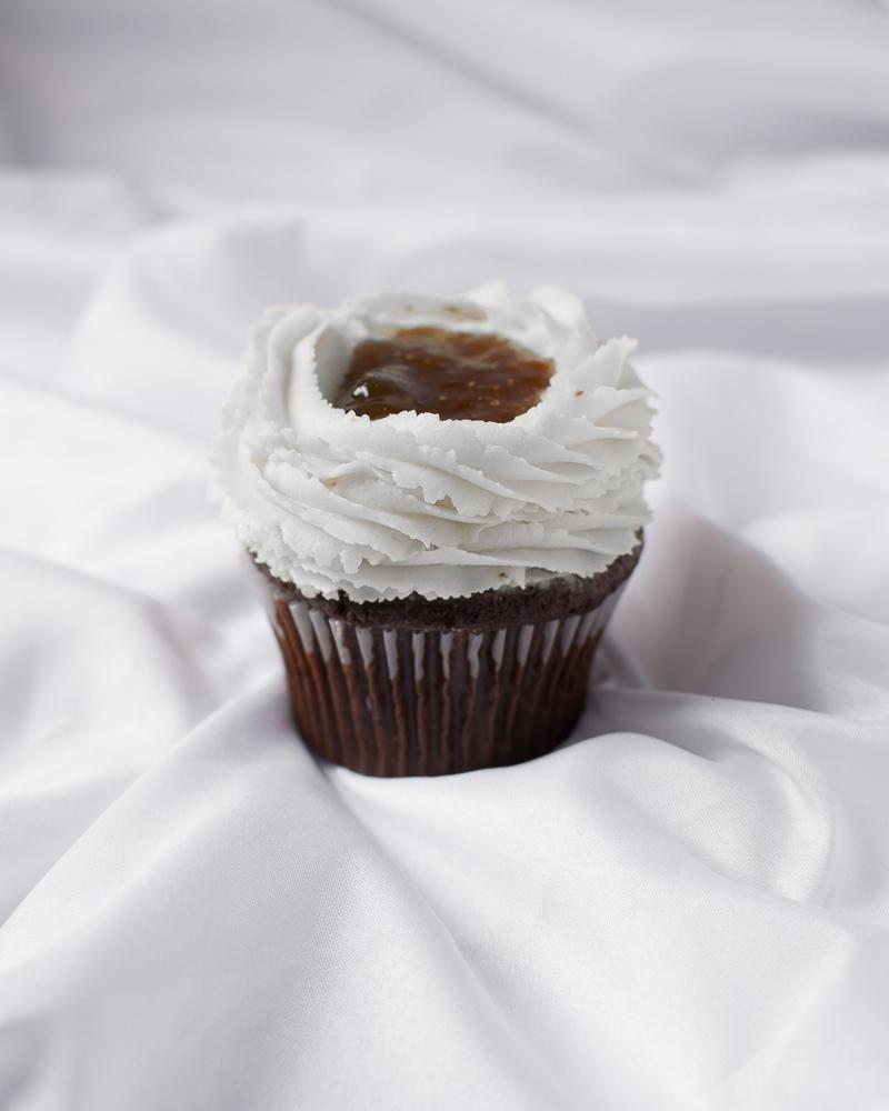 Jam cupcakes