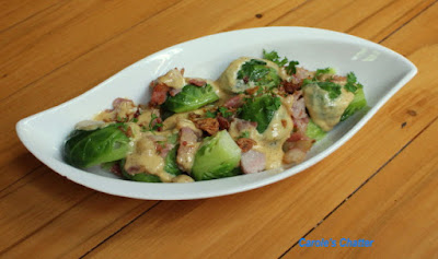 Carole's Chatter: Brussel Sprouts 'Carbonara'