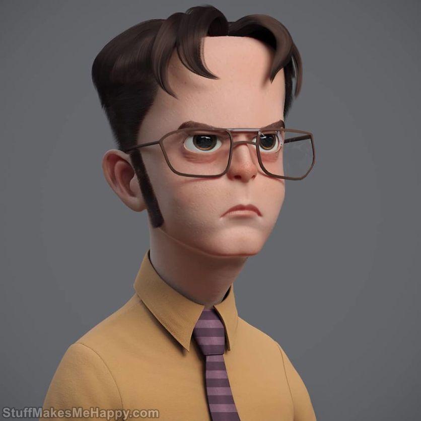 7. Dwight Schrute, Office