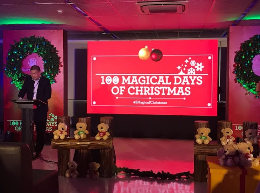 SM Supermalls Launches Christmas Countdown in 64 Malls Nationwide