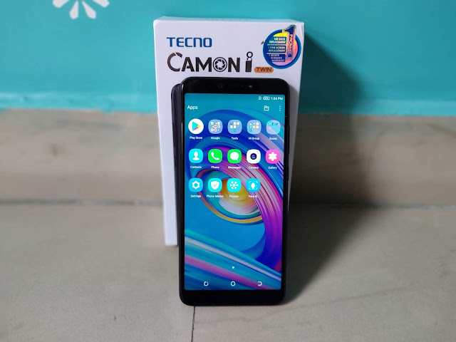 CAMON iTWIN review