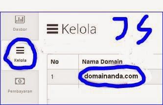 cara mengetahui epp code domain di idwebhost