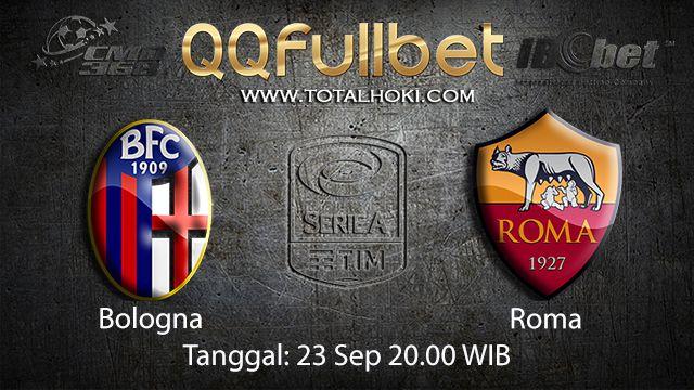 Prediksi Bola Jitu Bologna vs Roma 23 September 2018 ( Italian Serie A )