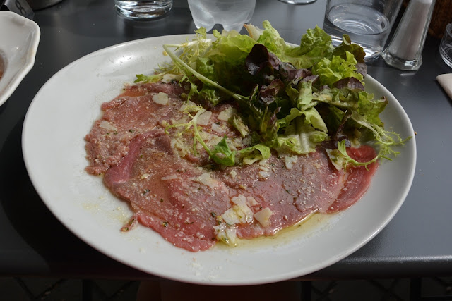 La Belle Epoque Bordeaux carpaccio