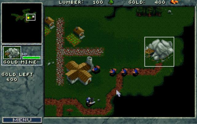 Warcraft 1 Gold Mine Screenshot