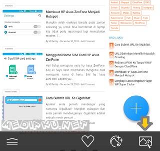 Crop Foto Di HP Asus ZenFone