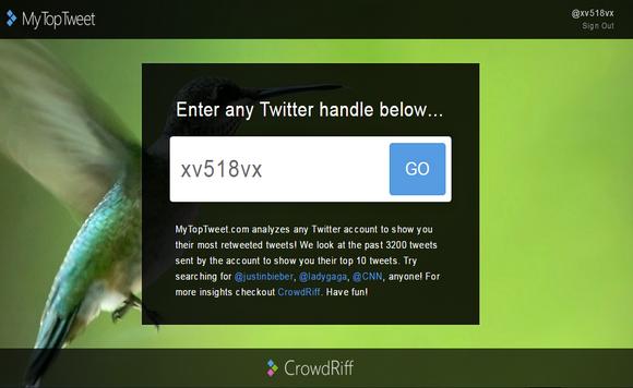 موقع يستخرج اشهر 10 تغريدات لأي حساب
