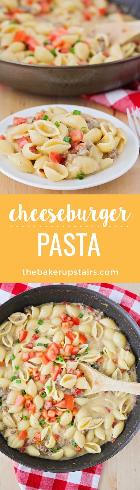 This delicious and savory cheeseburger pasta is quick and easy to make, and sure to be a favorite with the whole family!