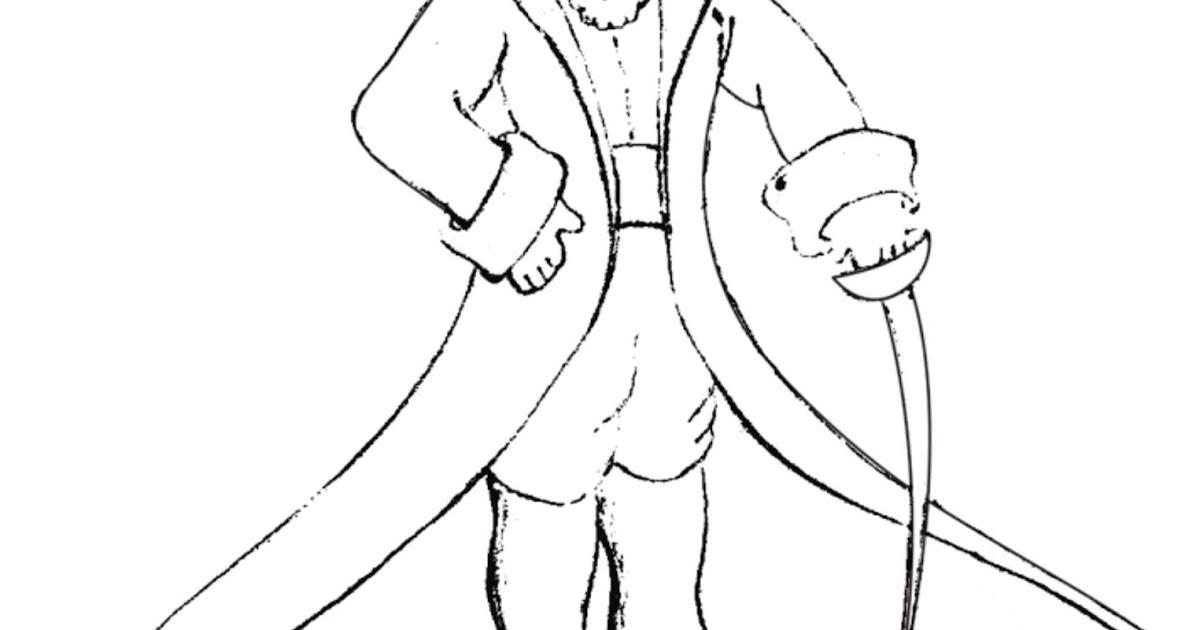 dibujos ideia criativa desenho o pequeno príncipe para colorir