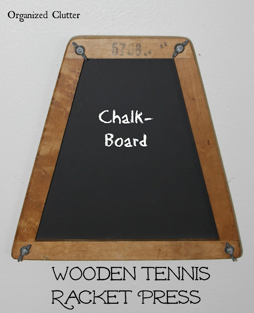 Fun Repurposed Chalk Board
