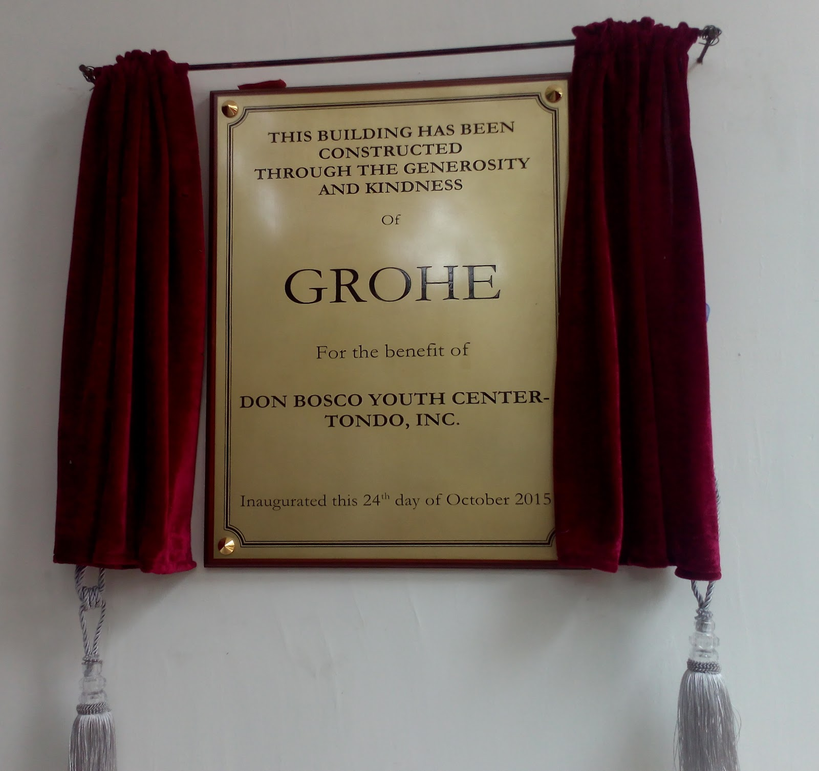 New GROHE Dual Tech Training Facility opens in the Philippines