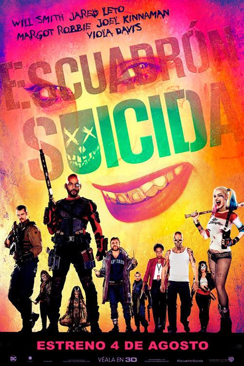 Escuadrón suicida (2016) DVDRip Español Latino