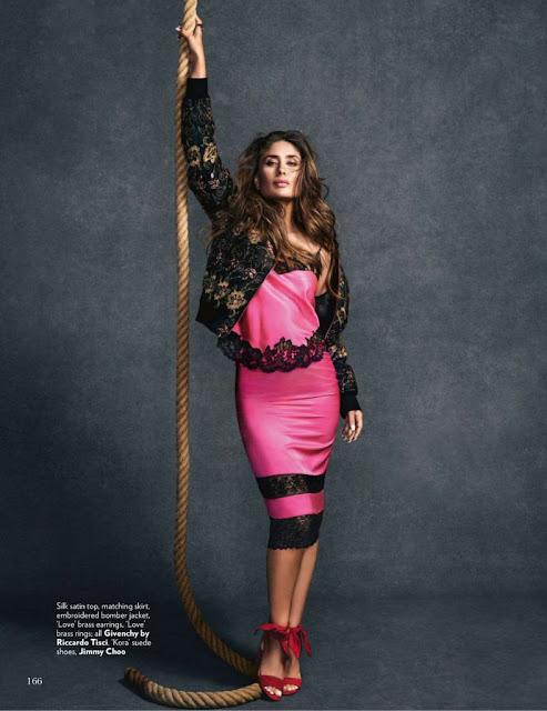 Vogue Magazine July 2016 Kareena Kapoor HQ Pictures
