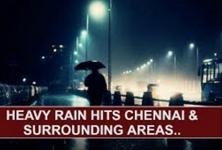 Heavy Rain hits Chennai & surrounding areas, Public express happiness | Thanthi TV
