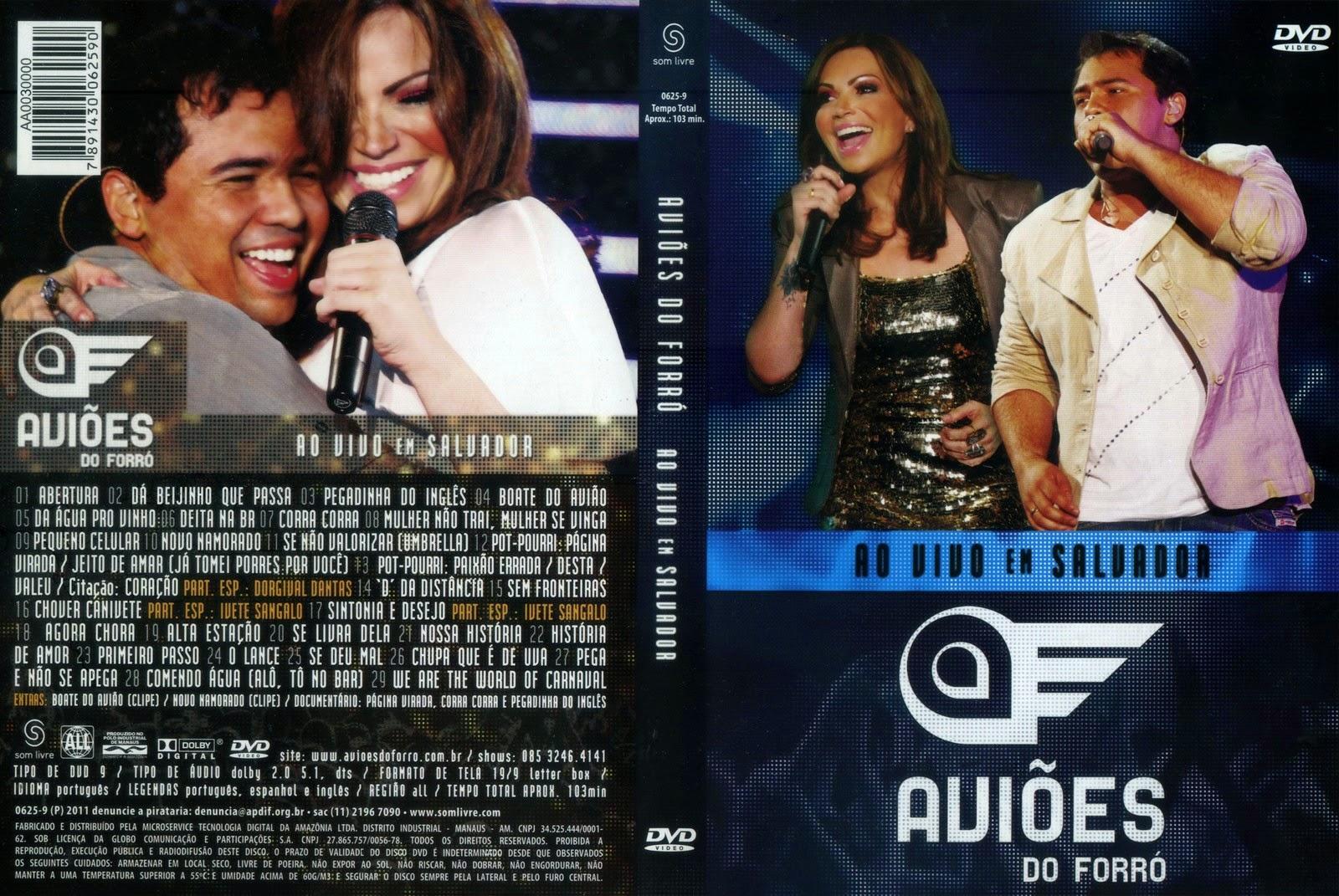 cd avioes do forro ao vivo em salvador 2011