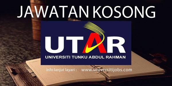 Jawatan Kosong Universiti Tunku Abdul Rahman 2016