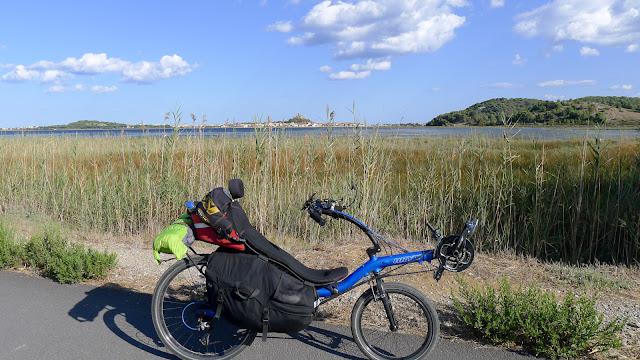 De Paris à Narbonne en vélo, Gruissan