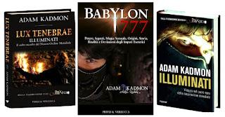 ADAM KADMON ® i libri dell'autore e scrittore che usa lo pseudonimo di Adam Kadmon.