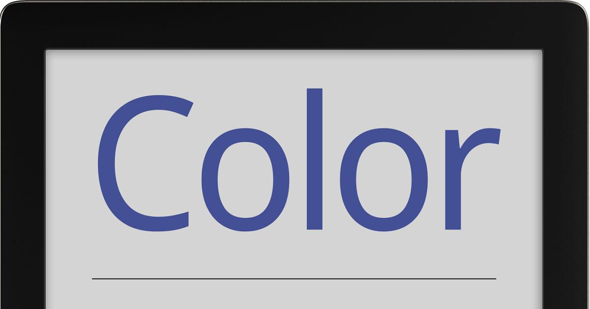 PocketBook Color z ekranem z kolorowego e-papieru