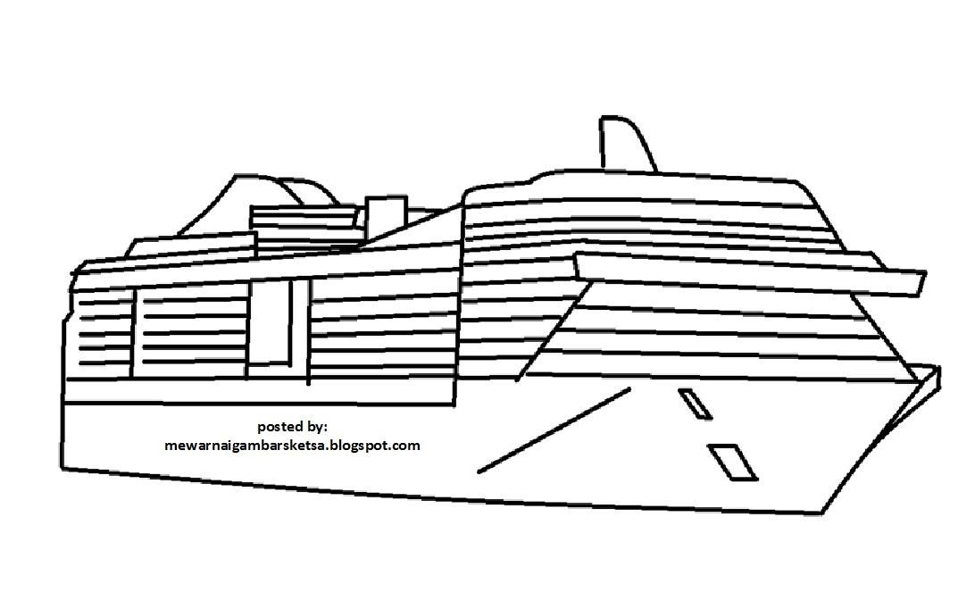 Mewarnai Gambar Kapal 10 Karena Mereka Adalah Masa Depan