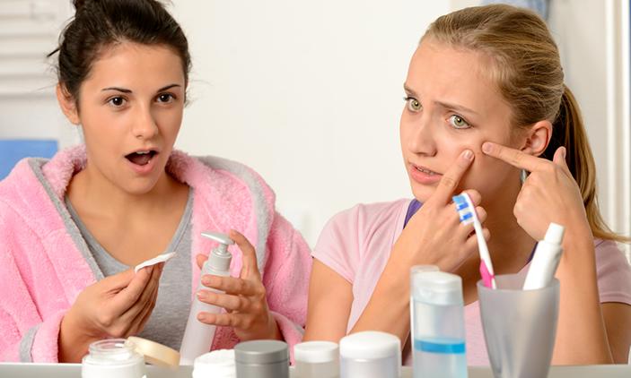 青春期痘痘肌保養第一課:從正確的洗臉開始