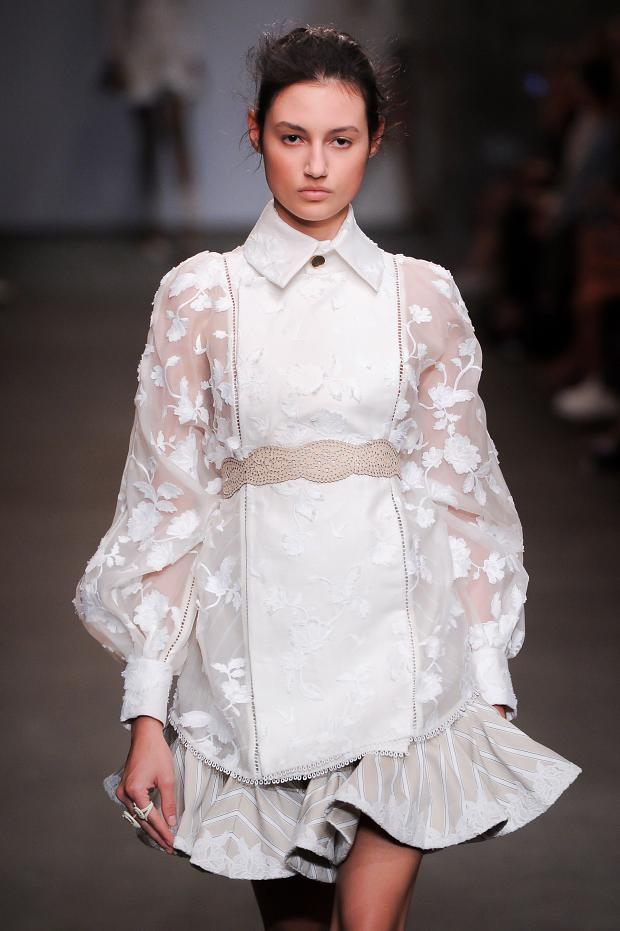 Fashion Runway Zimmermann Spring/Summer 2016 New York fashion week