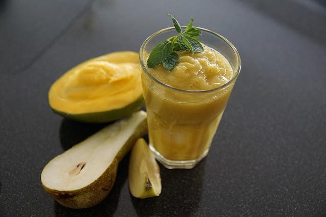 Recette de Smoothie poires et ananas