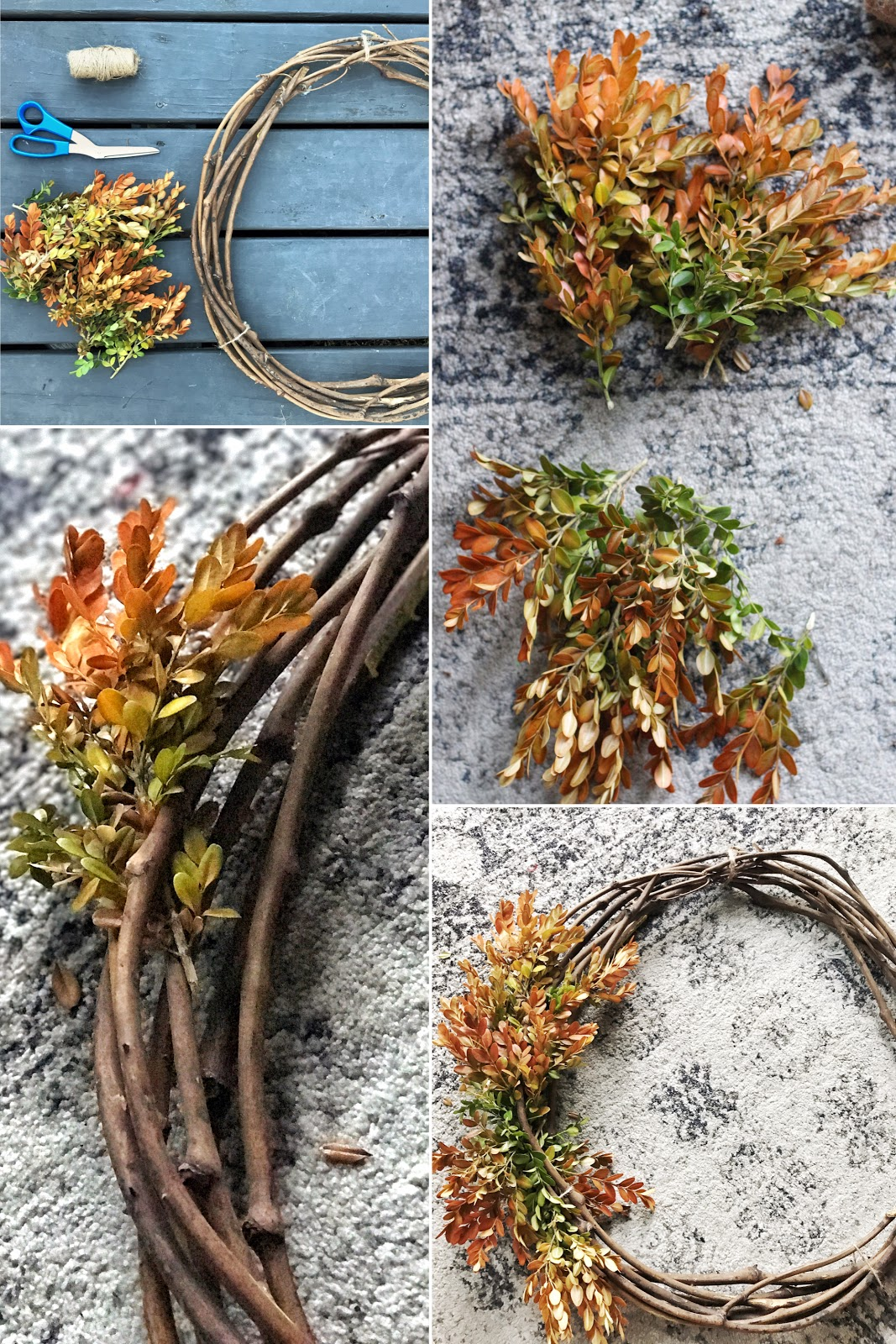 Easy Autumn Wreath-Fwmadebycarli