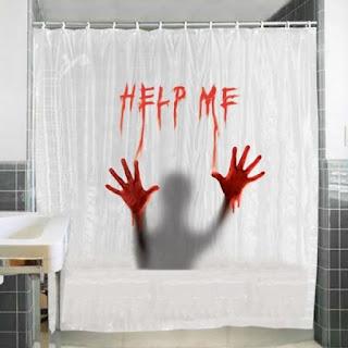 Cortina de baño friki