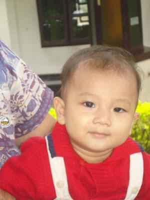 Enrico berumur 9 bulan, ganteng yaaah..