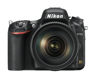 واجهة كاميرا نيكون d750