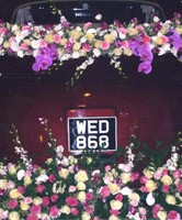 wedding car flowers newmarket