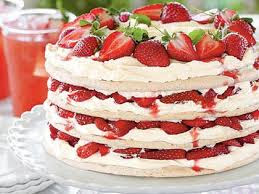 Strawberry best cake