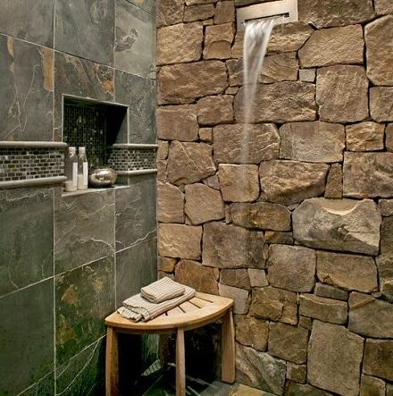 shrapnelgranate: kamar mandi minimalis batu alam