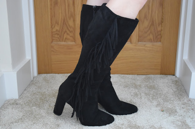 STYLE | Online Avenue Tassel Boots - Side View