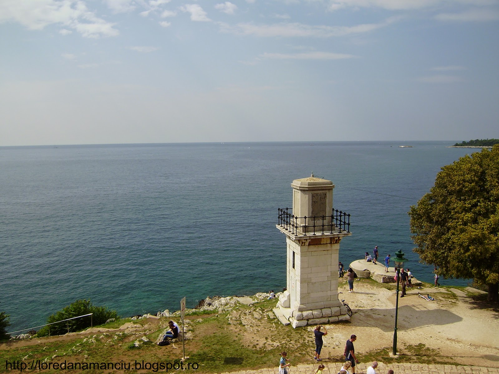 Croatia, orasul port Ronvinji