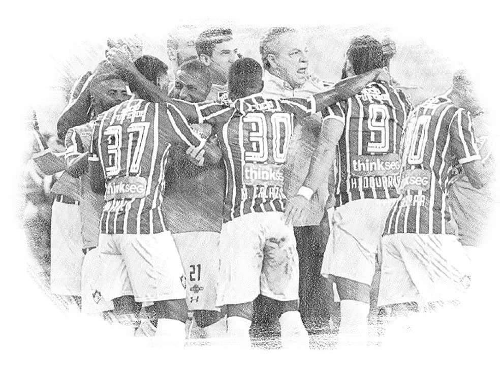 Foto do novo site oficial do Fluminense  Fluminense FC Divulgação. 7022804300f97