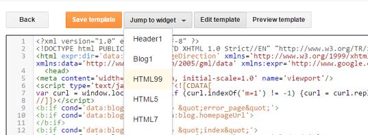 Comment débloquer et supprimer des widgets Blogger verrouillés?