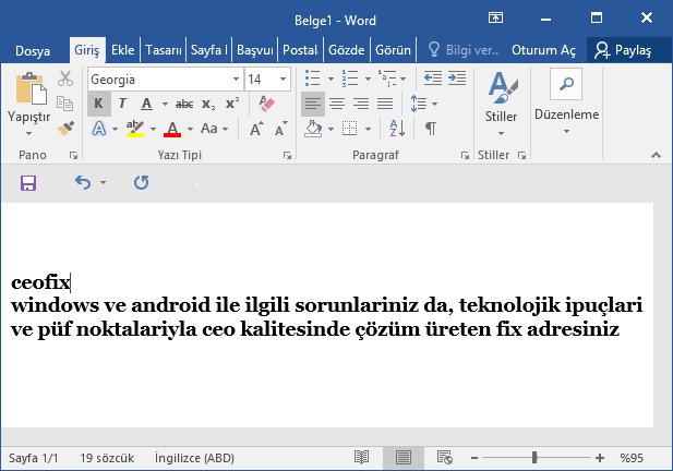 word belgesi harf dönüştürme-www.ceofix.com